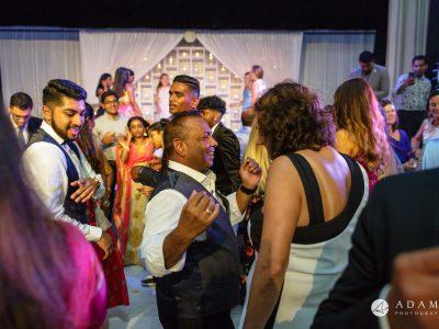 Oslo Wedding Photos crazy dance