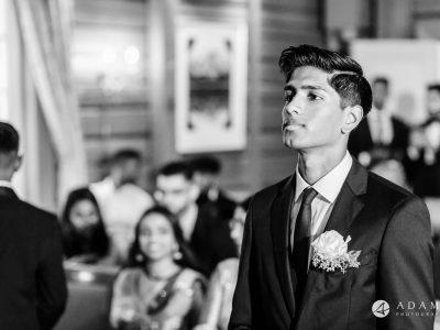 Oslo Wedding Photos Norway photo of groom having a moment