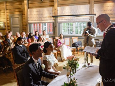 Oslo Wedding Photographer Norway wedding ceremony