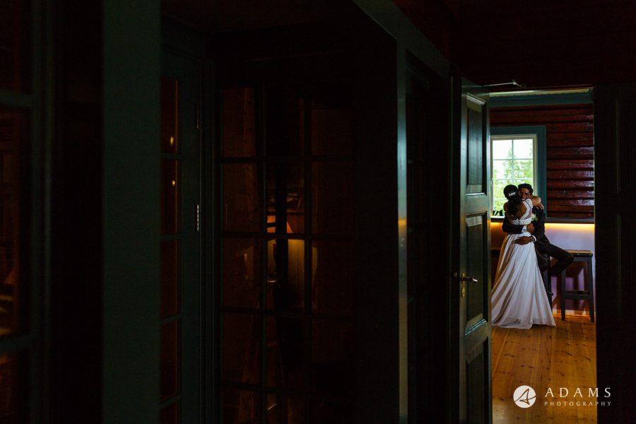 Norway Wedding Photography couple hugging