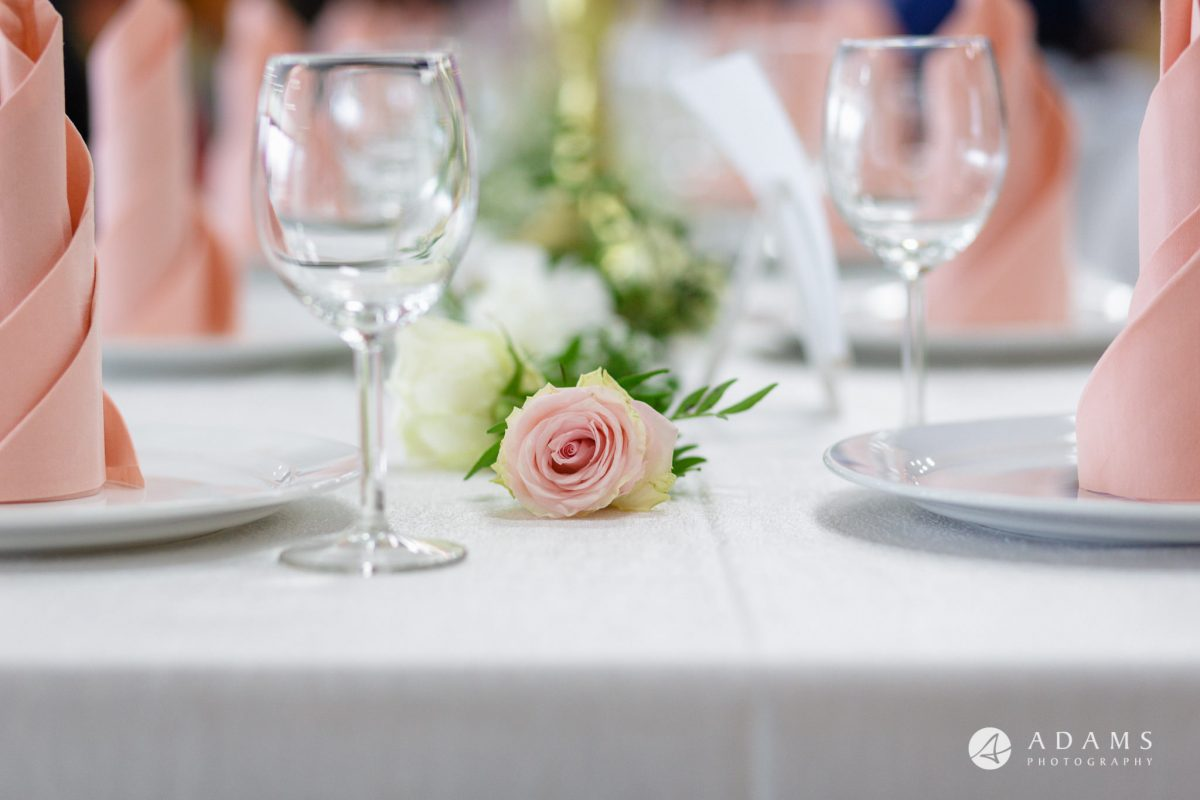 Norway Wedding table details
