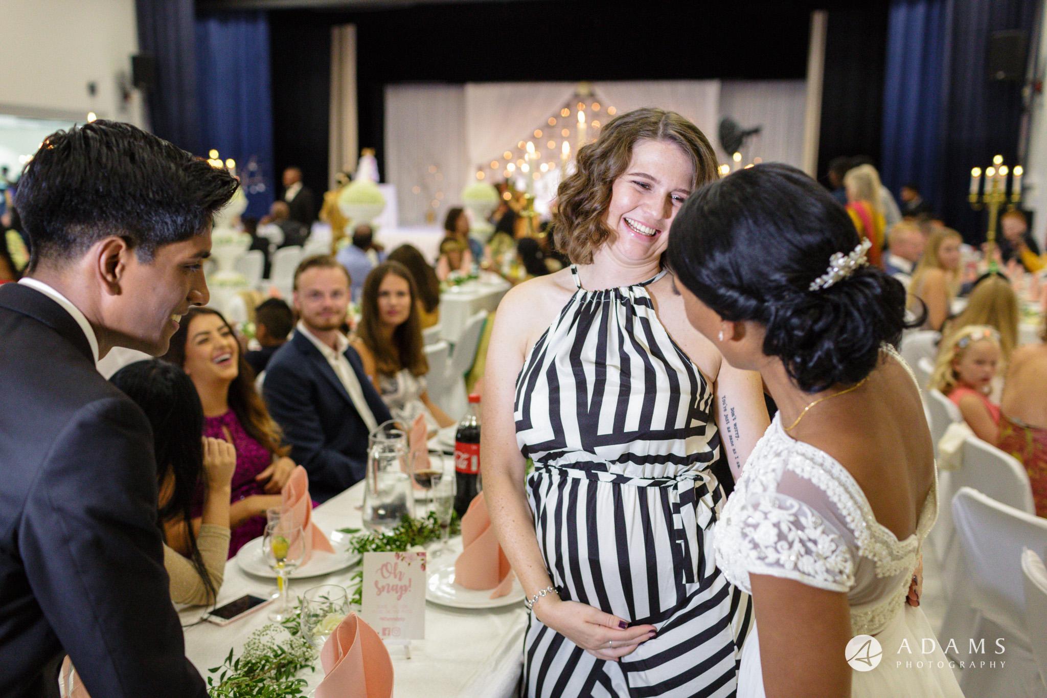 Norway Tamil Wedding guests