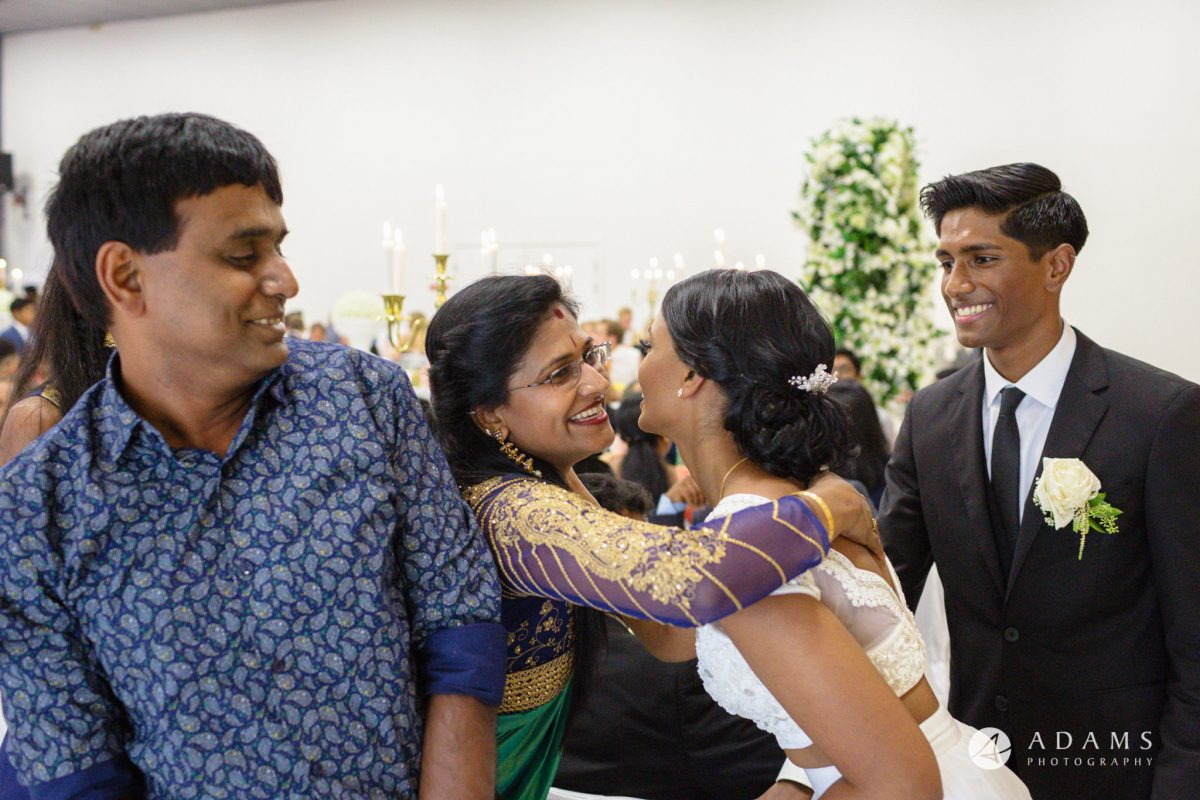 Norway Tamil Wedding family