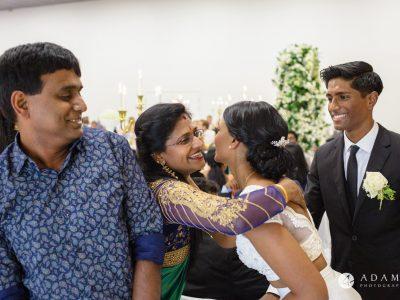 Norway Tamil Wedding family