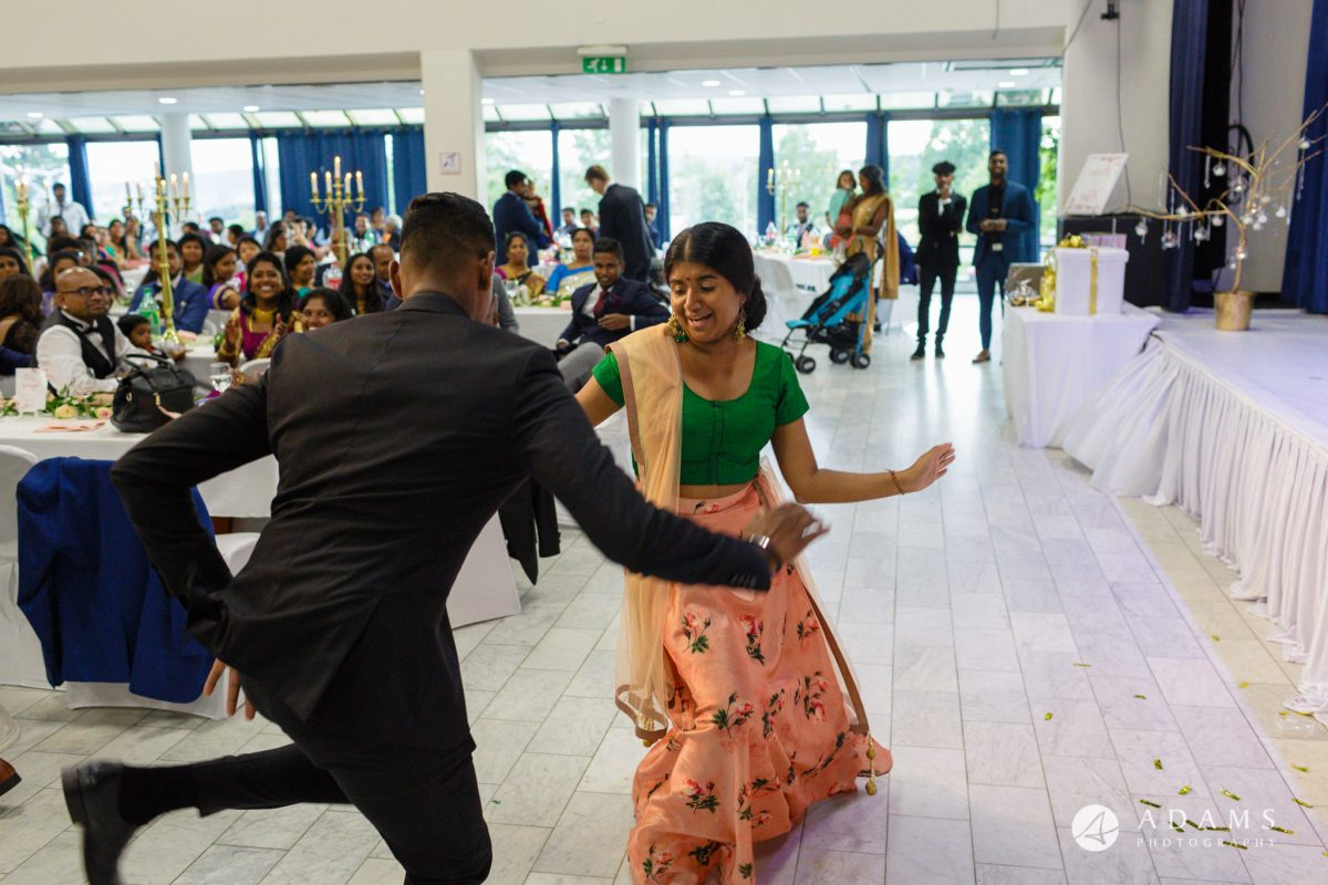 Norway Tamil Wedding family dancing