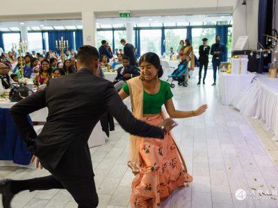 Norway Tamil Wedding family dancing