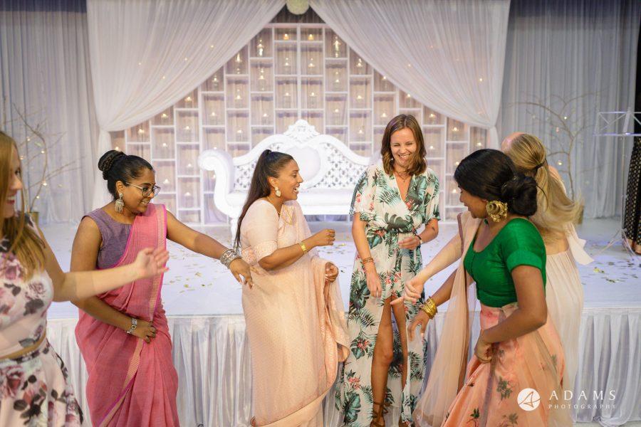 Norway Tamil Wedding bridesmaids dance