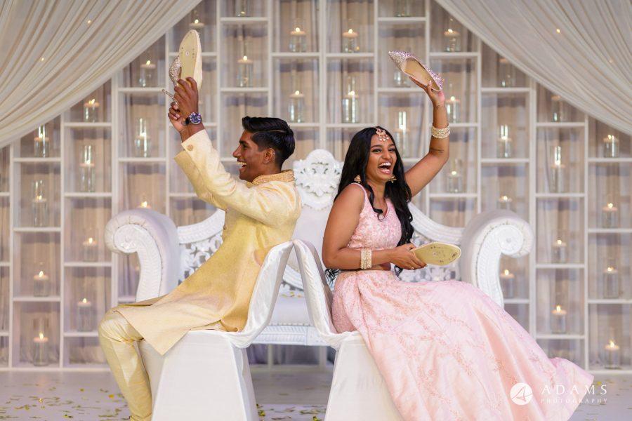 Norway Tamil Wedding couple games