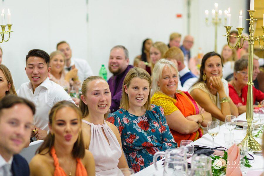 Norway Tamil Wedding table guests