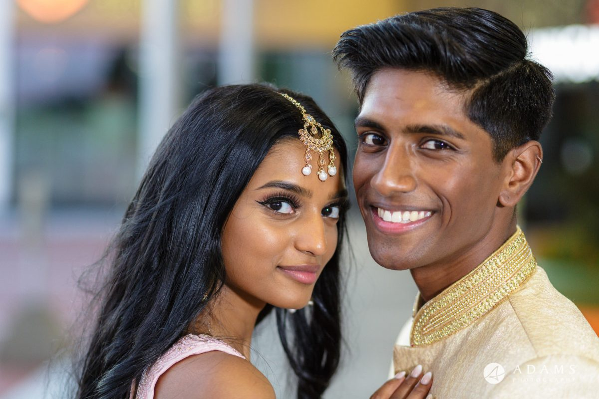 Oslo Tamil Wedding couple photo shoot in the afternoon
