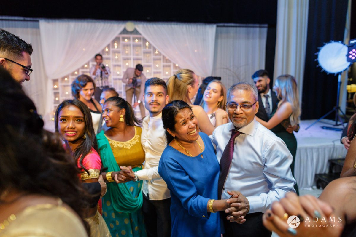Oslo Tamil Wedding everybody dancing