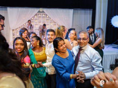 Oslo Tamil Wedding everybody dancing