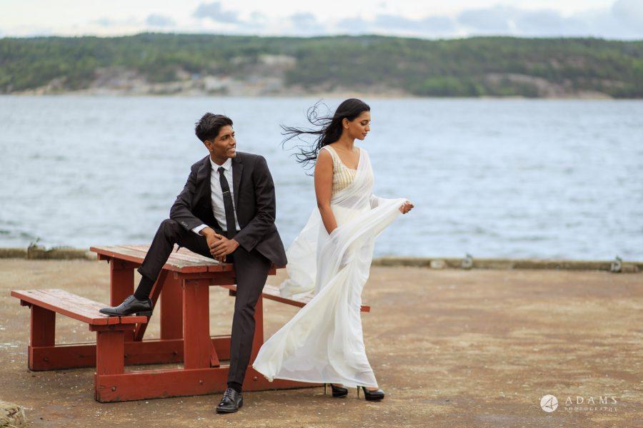 Engagement Photos near Oslo, Norway couple photo shoot