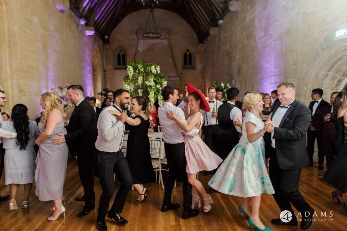 st donats castle wedding guests dance