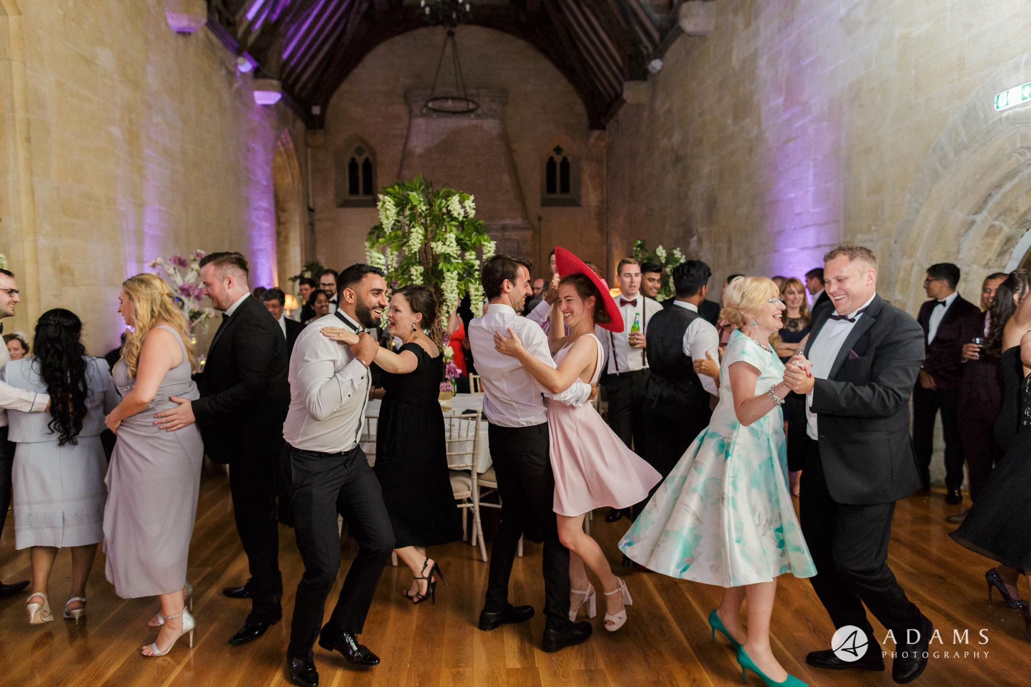 st donats castle wedding guests dance