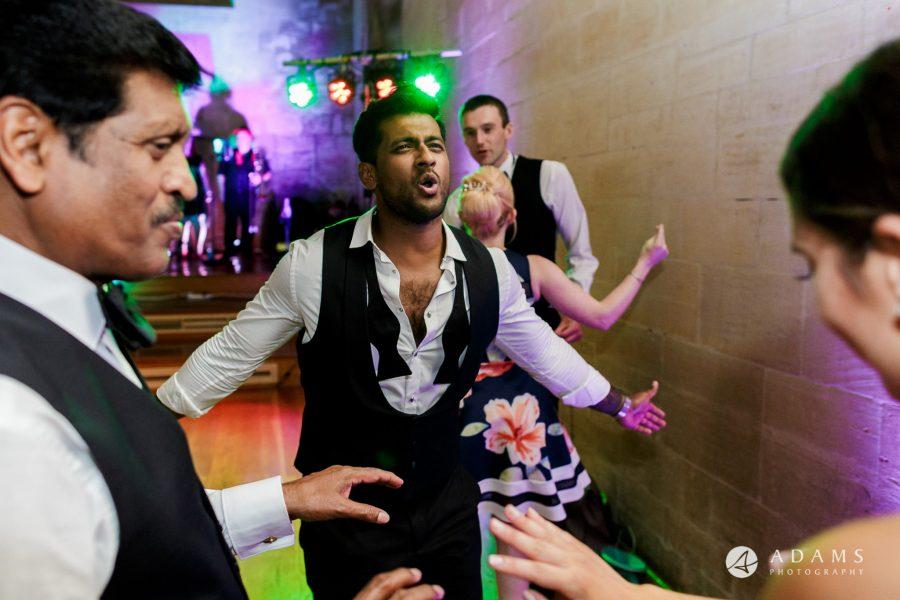 st donats castle wedding family having good time dancing