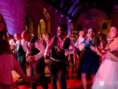 st donats castle wedding dance floor