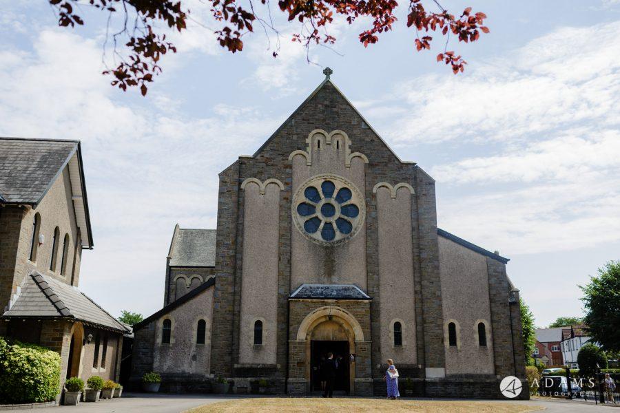 st donats castle wedding ceremony church