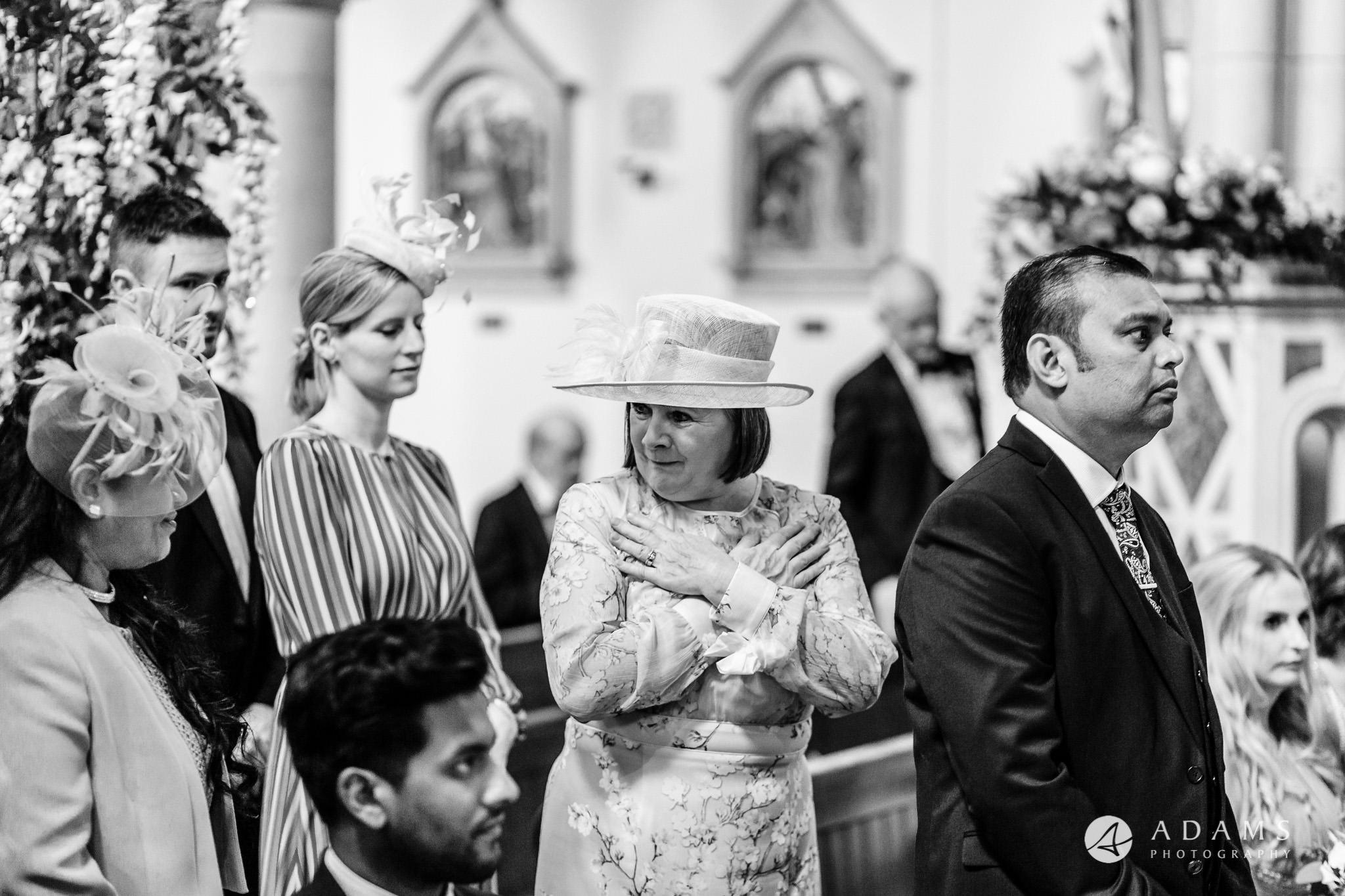 st donats castle wedding holly communion