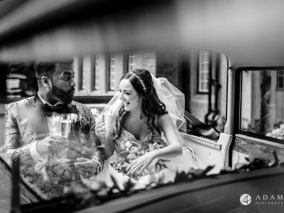 st donats castle wedding grooms laughs