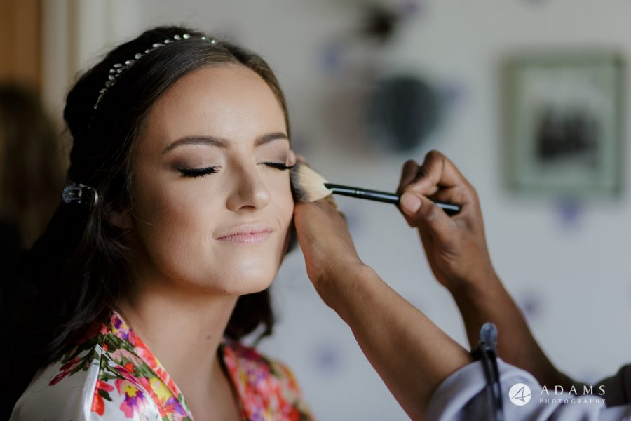st donats castle wedding bridal make up