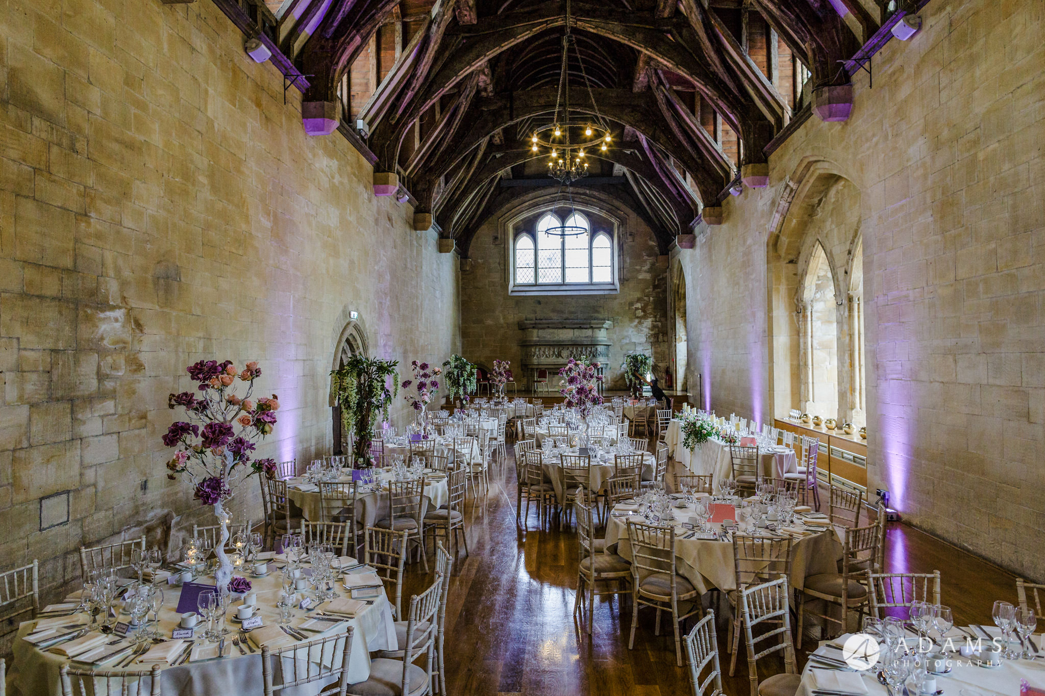 st donats castle wedding dining room indoors