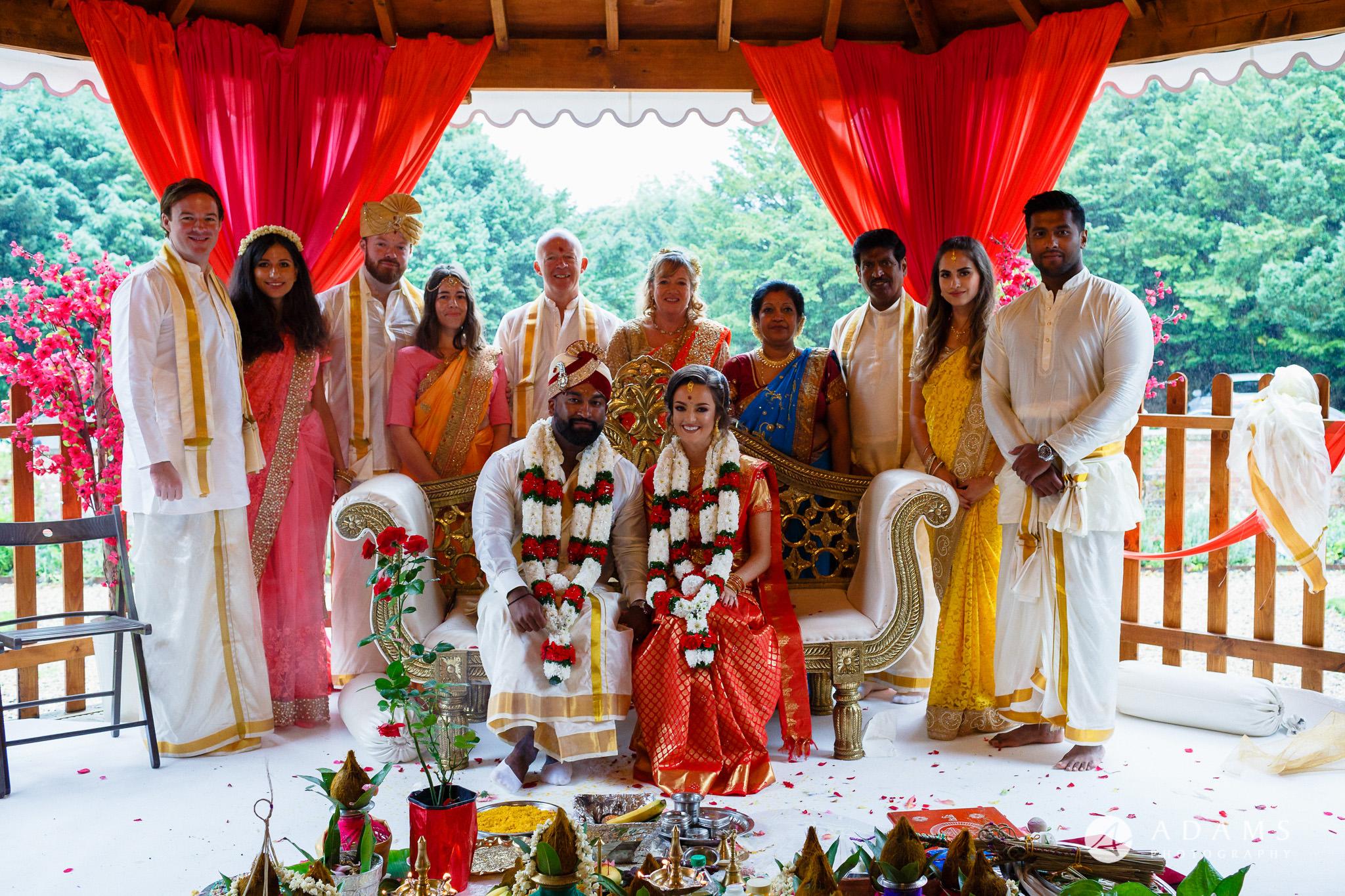 walled garden orchardleigh wedding photographer family group shot
