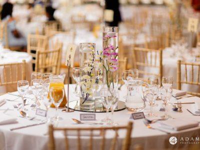 walled garden orchardleigh wedding table