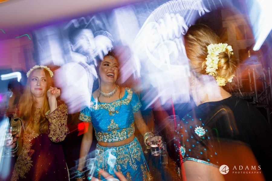 walled garden orchardleigh wedding dancing