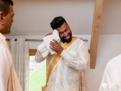 walled garden orchardleigh wedding groom