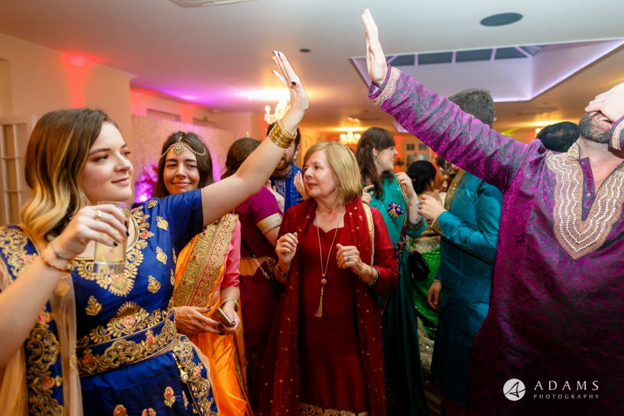 walled garden orchardleigh wedding photography guests dancing