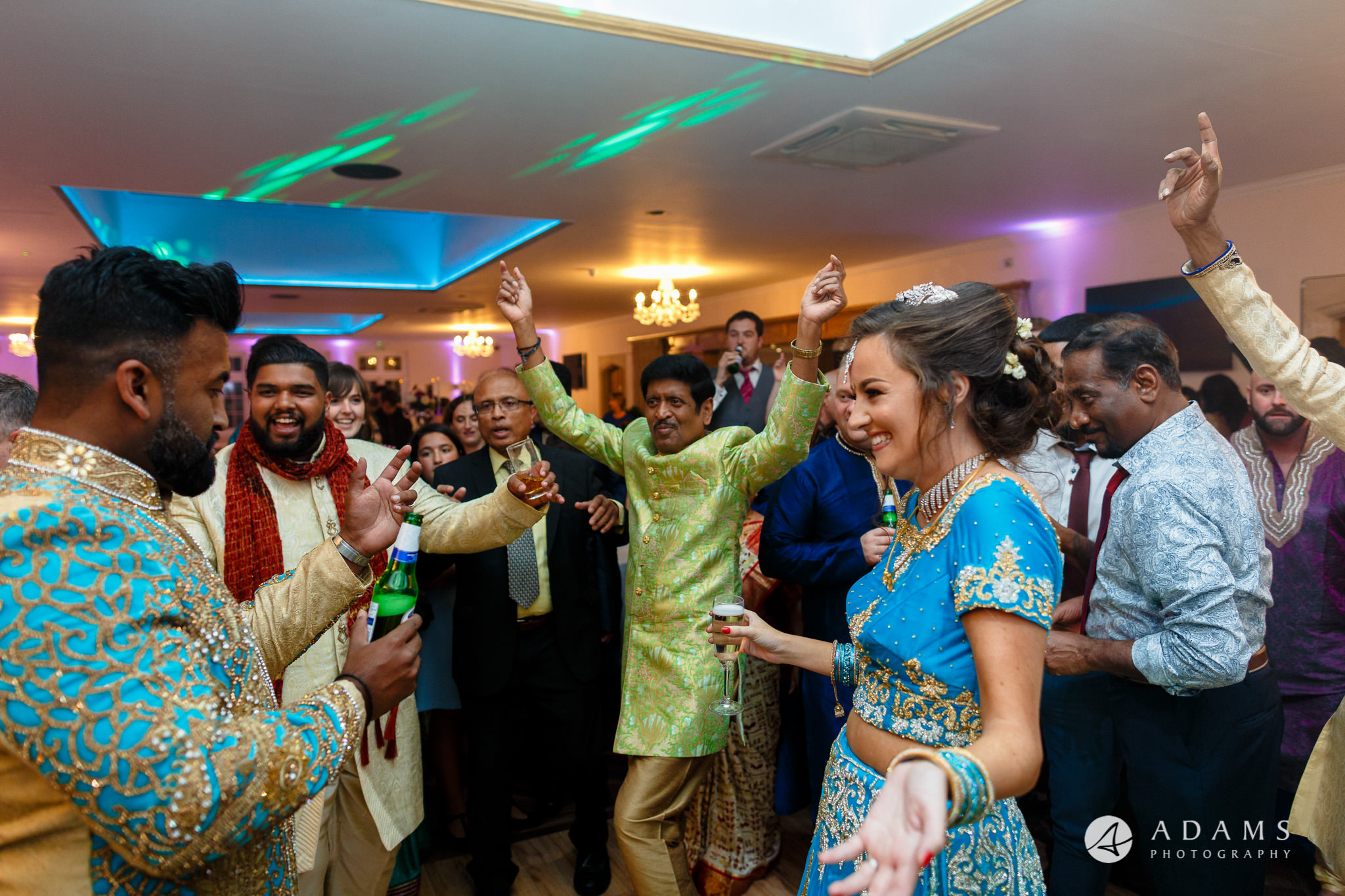 walled garden orchardleigh wedding photography bride and groom dance