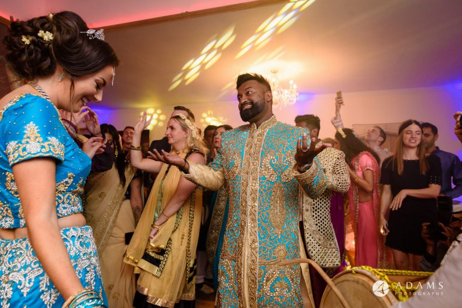 walled garden orchardleigh wedding photography groom and the bride on the dance floor