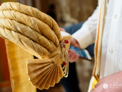 walled garden orchardleigh wedding religious hat