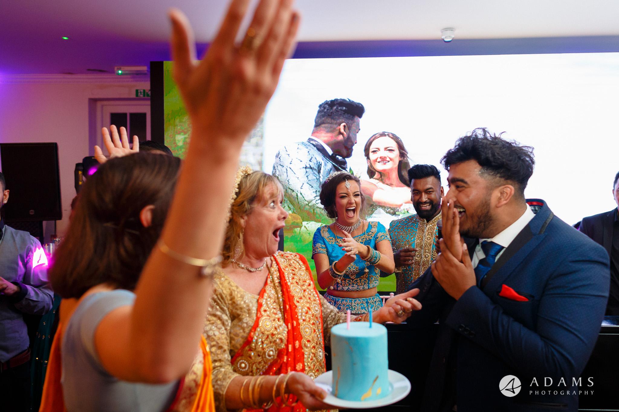 walled garden orchardleigh wedding photography birthday cake
