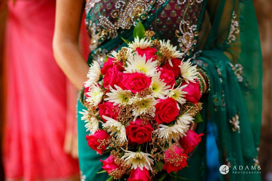 walled garden orchardleigh wedding bouquet