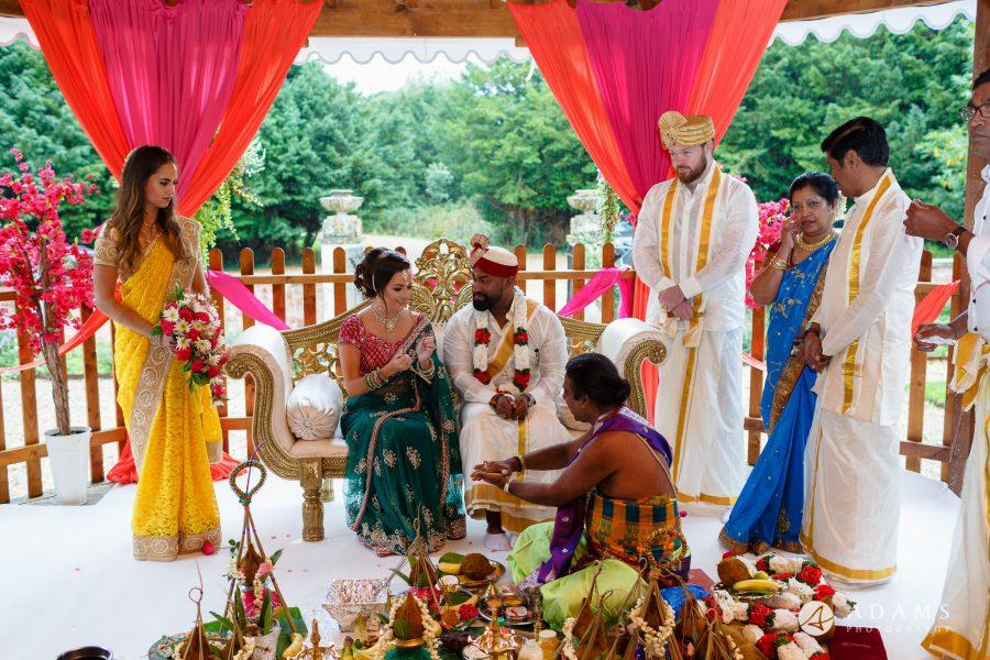 walled garden orchardleigh wedding bride and groom