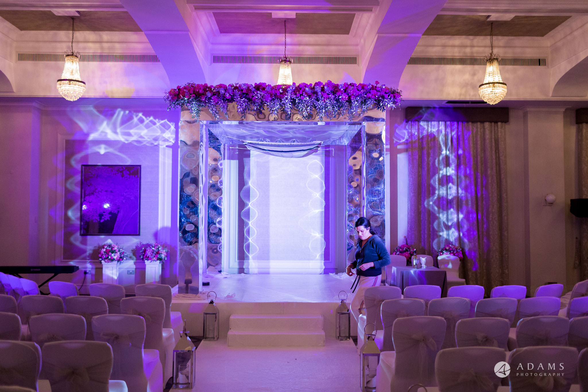 grand connaught rooms wedding chuppah