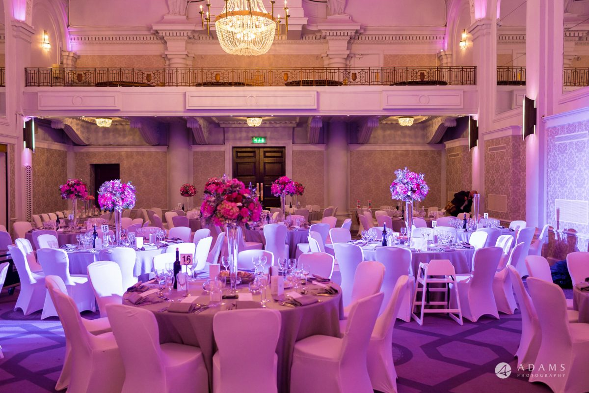 grand connaught rooms wedding main room view