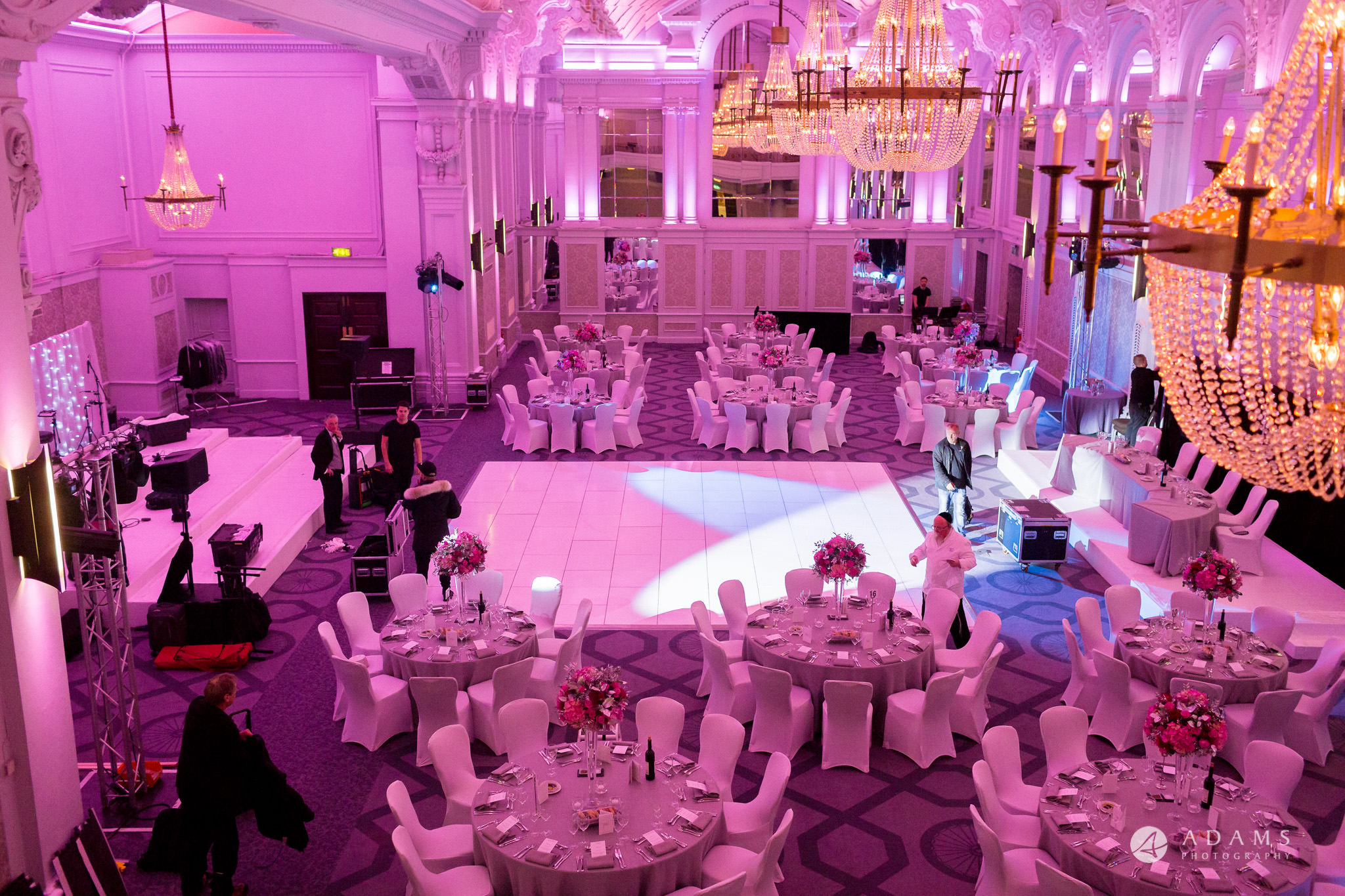 grand connaught rooms wedding view form the balcony