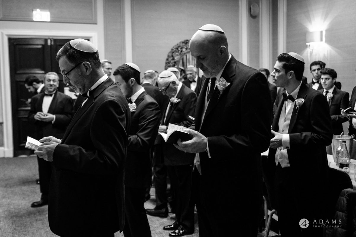 grand connaught rooms wedding Jewish prayer