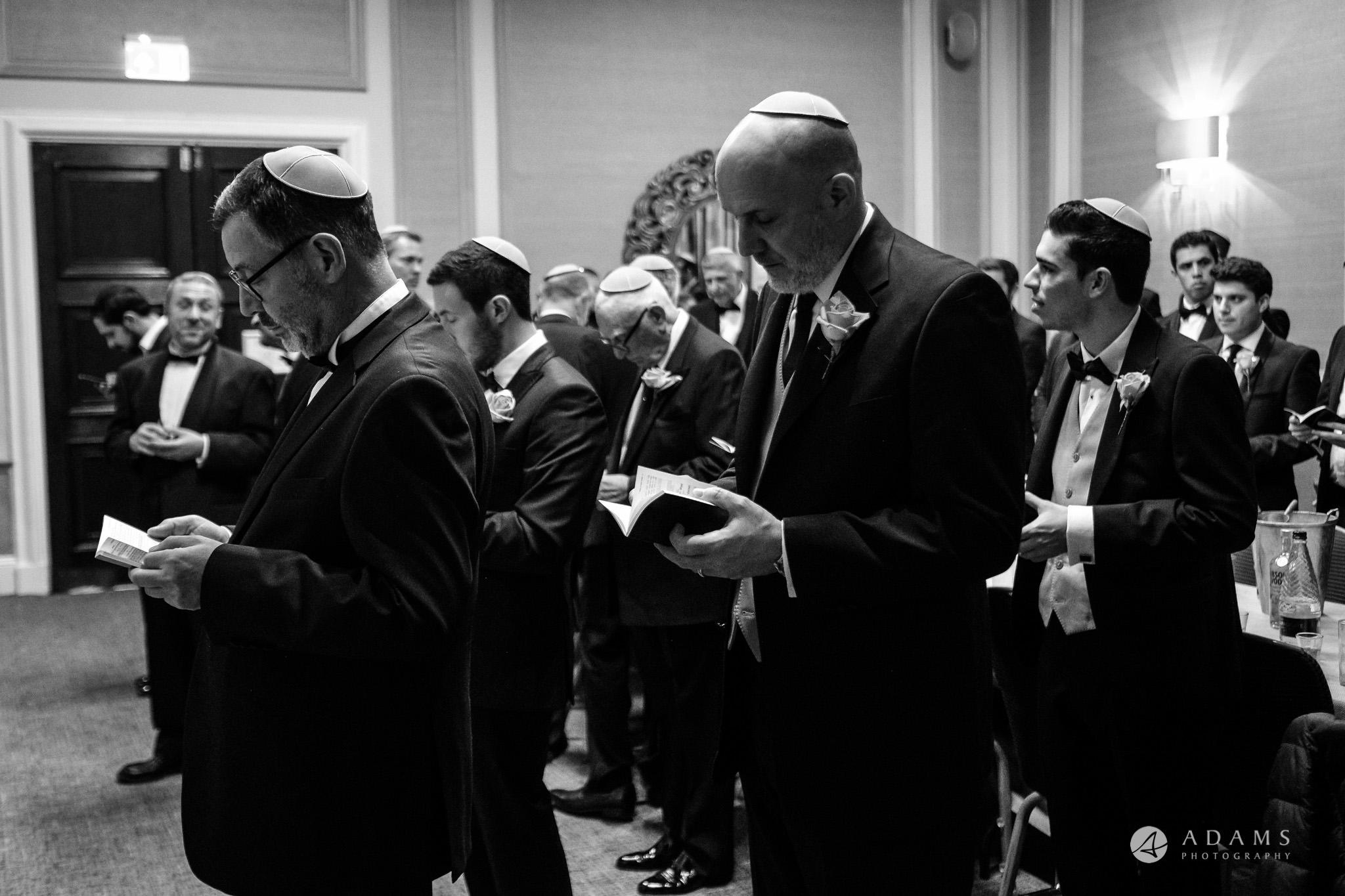 grand connaught rooms wedding Jewish prayer