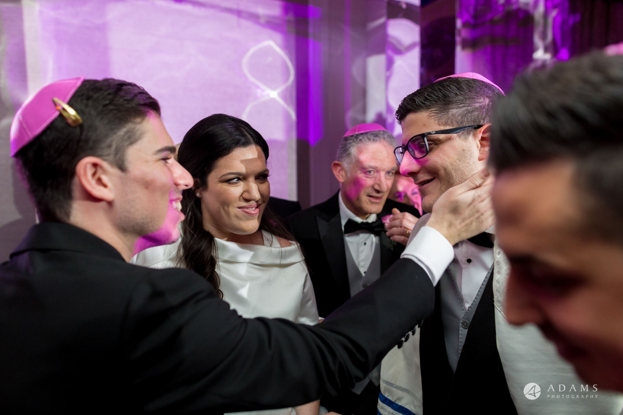De Vere grand connaught rooms family happiness under chuppah