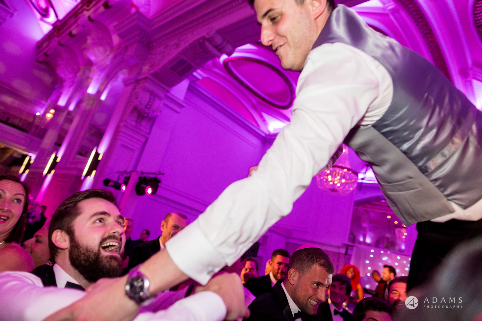 De Vere grand connaught rooms groom in the air