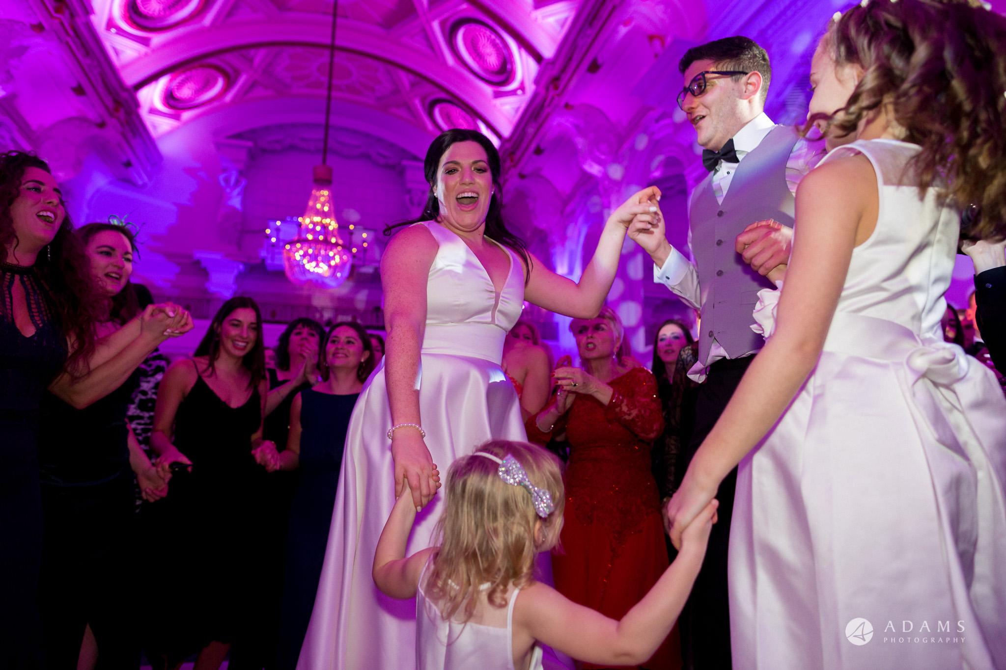 De Vere grand connaught rooms photographer couple dancing