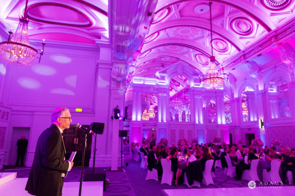 De Vere grand connaught rooms photographer father gives his speech