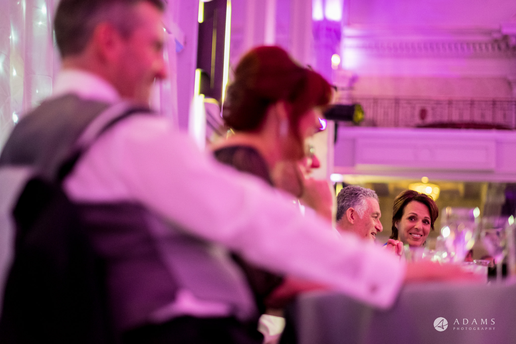 Grand connaught rooms photographer mother looks at the rest of top table