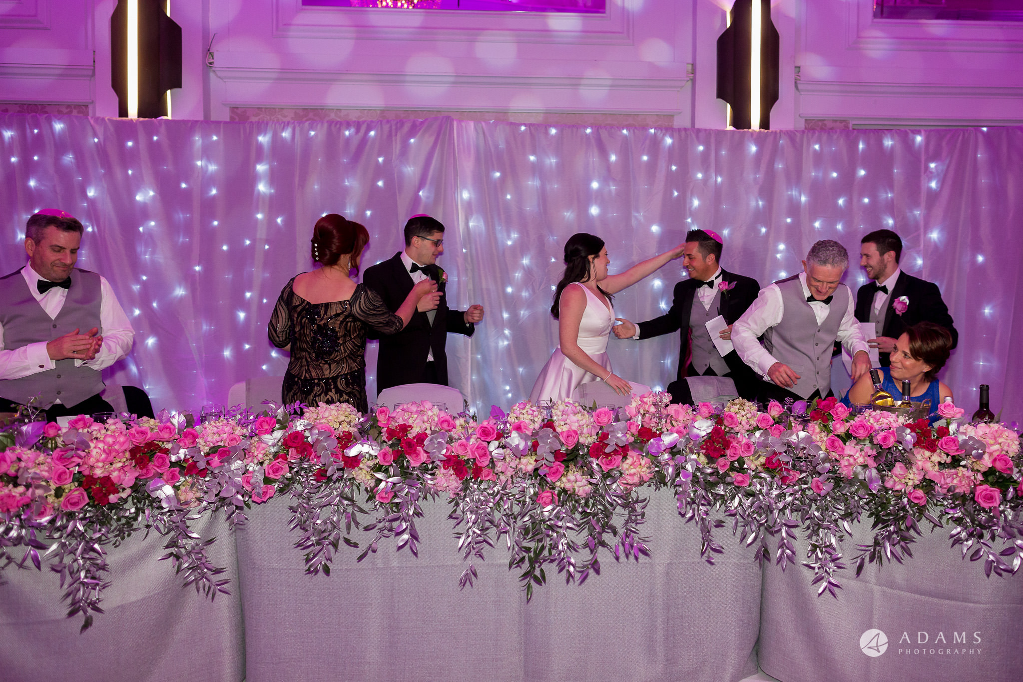 Grand connaught rooms photographer hugs at top table