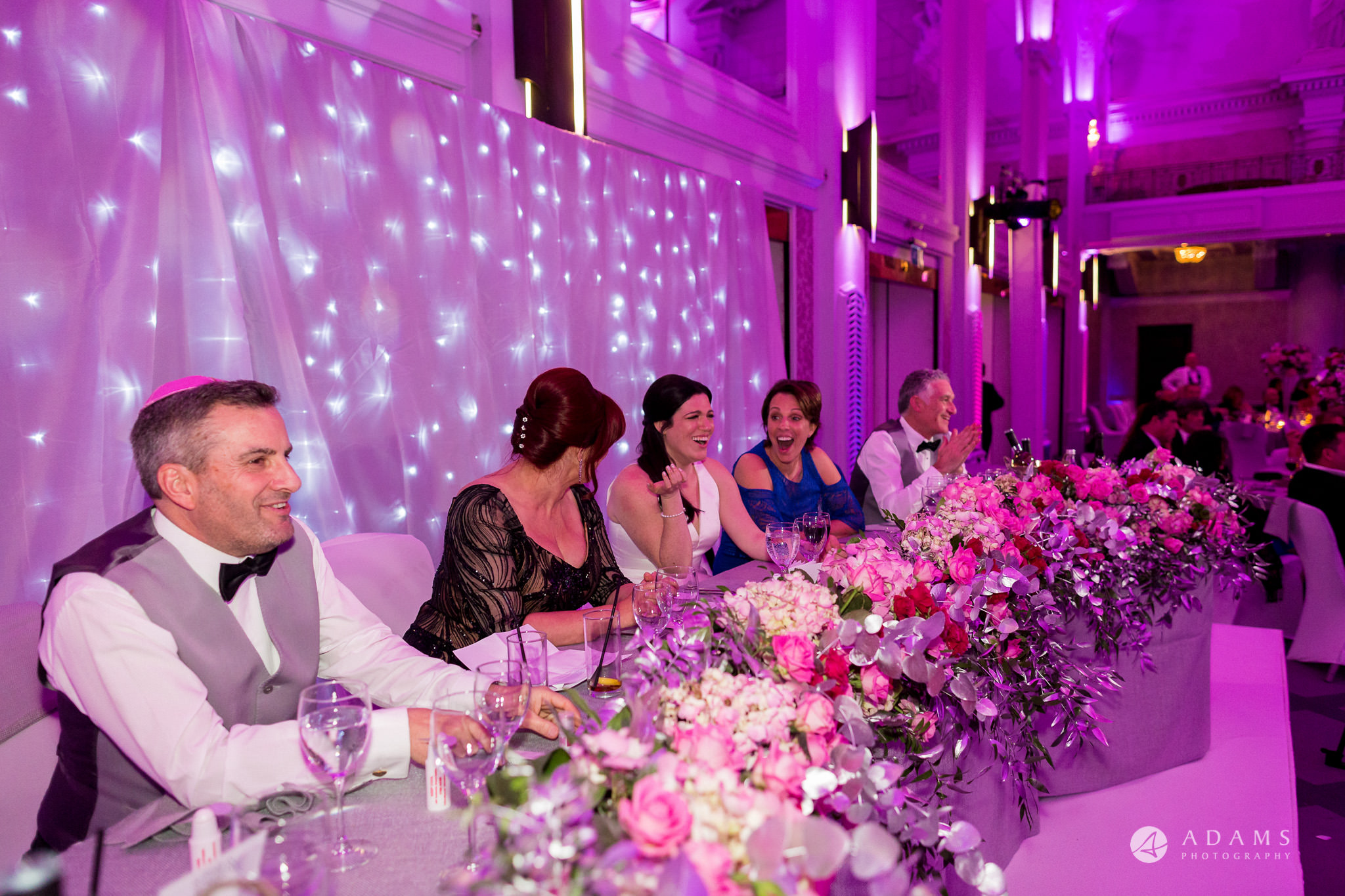 Grand connaught rooms top table laughing