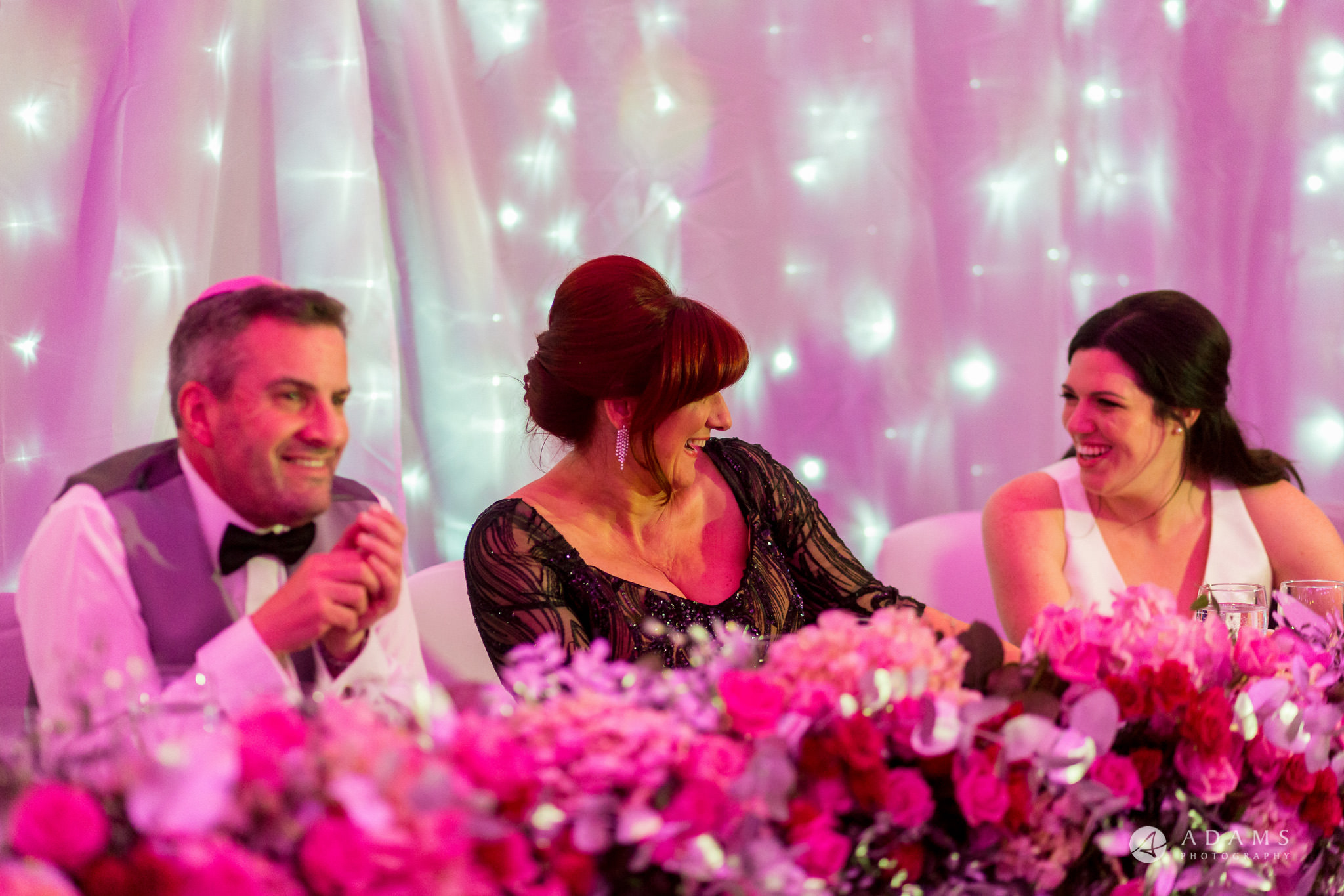 Grand connaught rooms bride smiles with mother in law